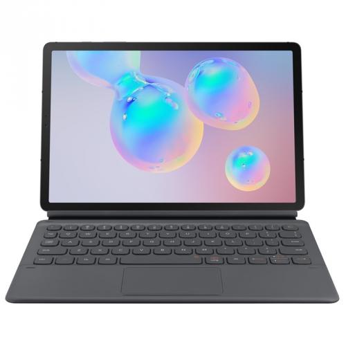 Pouzdro na tablet s klávesnicí Samsung Galaxy Tab S6 šedé + DOPRAVA ZDARMA