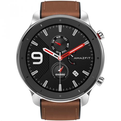 Chytré hodinky Xiaomi Amazfit GTR 47 mm - Stainless Steel
