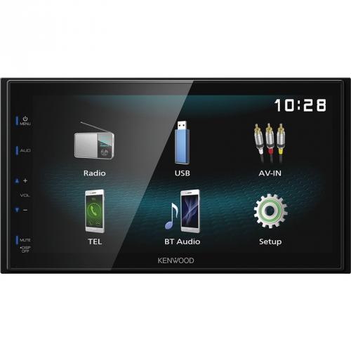 Autorádio s LCD KENWOOD DMX-120BT, 2DIN černé