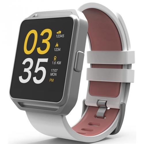 Chytré hodinky CUBE 1 FITWATCH stříbrné
