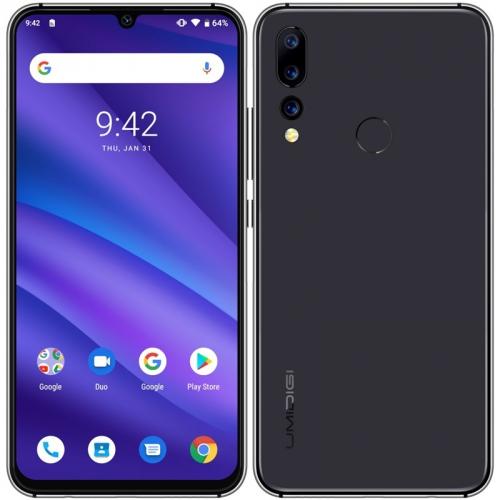Mobilní telefon UMIDIGI A5 Pro Dual SIM černý