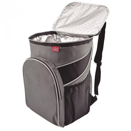 Chladící taška JATA 985 šedá/modrá
