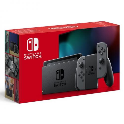 Herní konzole Nintendo Switch s Joy-Con v2 šedá