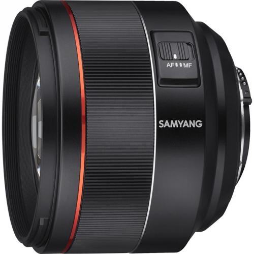 Objektiv Samyang AF 85 mm f/1.4 Nikon F černý