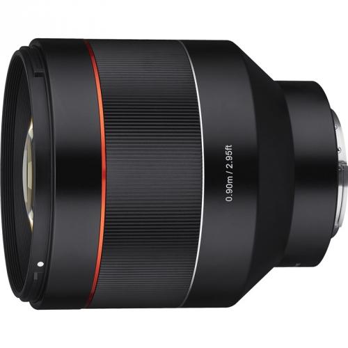 Objektiv Samyang AF 85 mm f/1.4 Sony FE černý + DOPRAVA ZDARMA