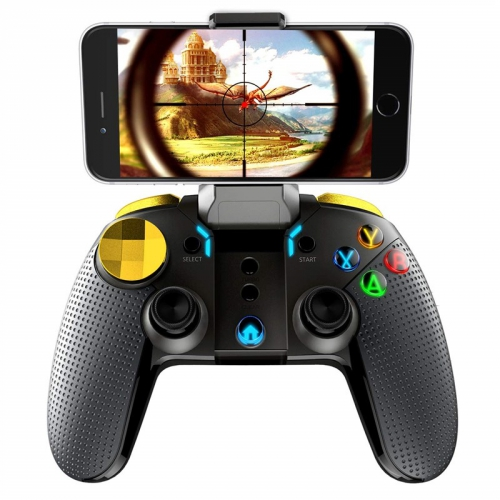 Gamepad iPega Golden Warrior iOS/Android, BT černý
