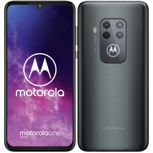 Mobilní telefon Motorola One Zoom šedý