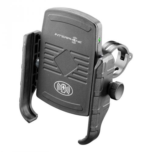 Interphone Motocrab s bezdrátovým nabíjením, na motorku