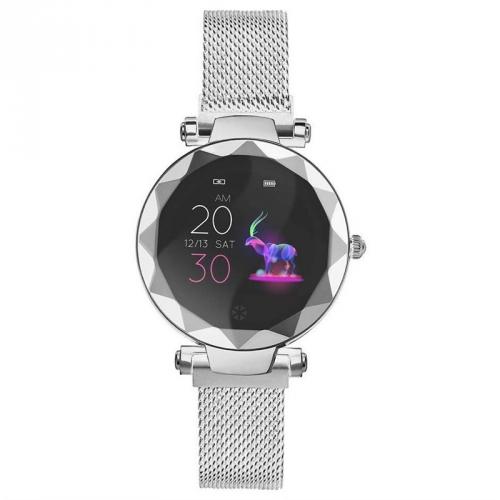 Chytré hodinky IMMAX SW12 stříbrné