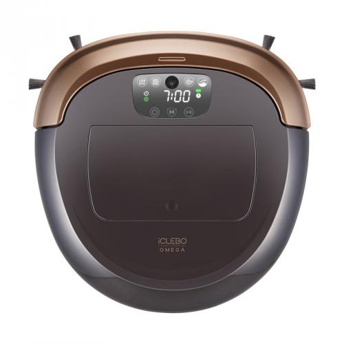 Robotický vysavač iClebo Omega YCR-M07-10 černý/zlatý + DOPRAVA ZDARMA