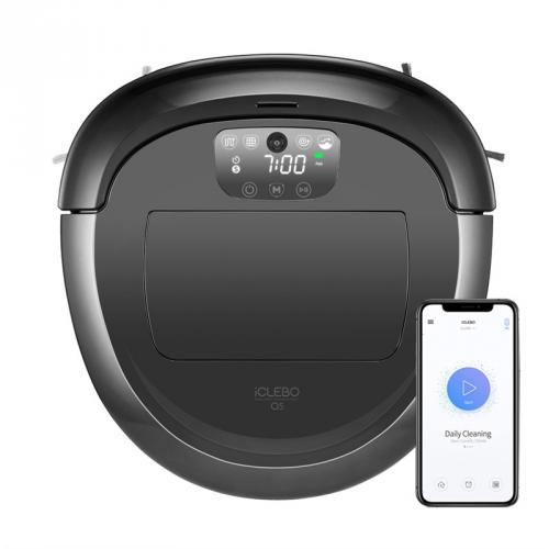 Robotický vysavač iClebo O5 YCR-M07-20W černý/šedý + DOPRAVA ZDARMA