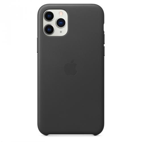 Kryt na mobil Apple Leather Case pro iPhone 11 Pro černý