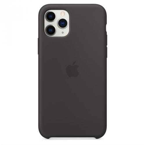 Kryt na mobil Apple Silicone Case pro iPhone 11 Pro černý