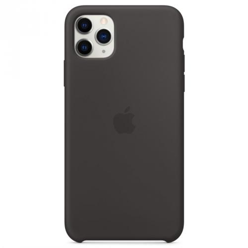 Kryt na mobil Apple Silicone Case pro iPhone 11 Pro Max černý