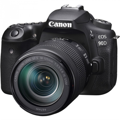 Digitální fotoaparát Canon EOS 90D + 18-135 IS USM černý + dárek