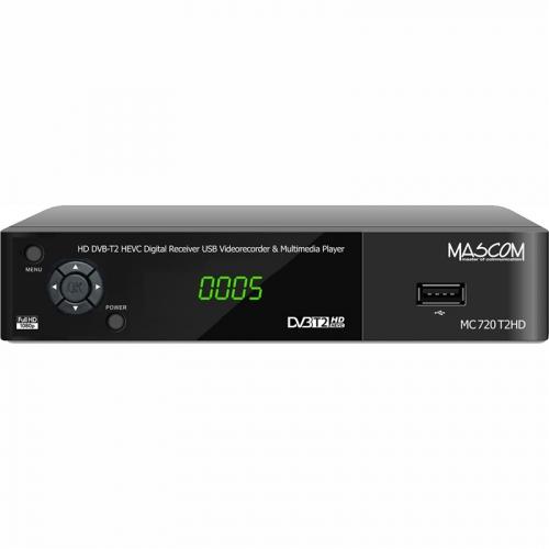 Set-top box Mascom MC720T2 HD černý