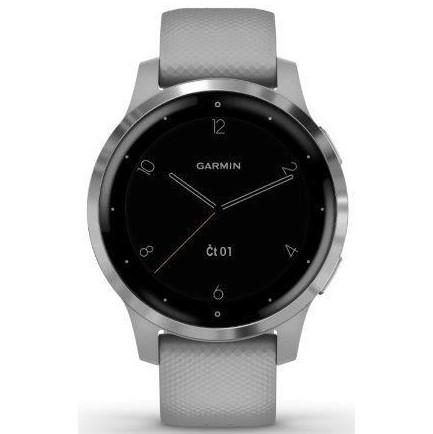 GPS hodinky Garmin vívoactive4S Silver/Gray