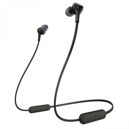 Sluchátka Sony WIXB400B černá