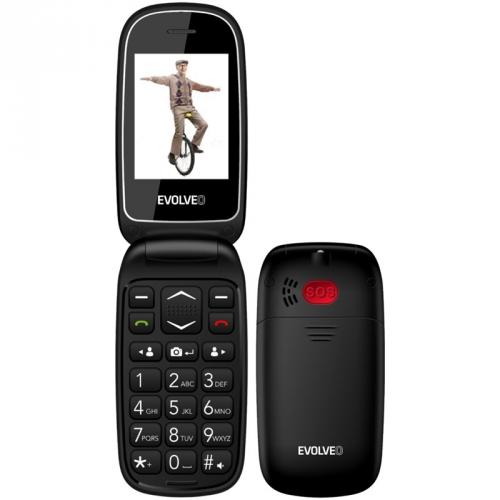Mobilní telefon Evolveo EasyPhone FD černý