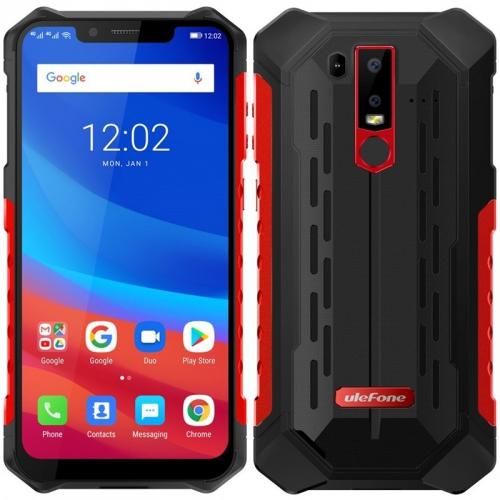 Mobilní telefon UleFone Armor 6S červený