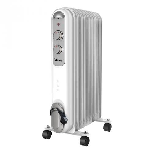 Olejový radiátor Ardes 4R09S šedý