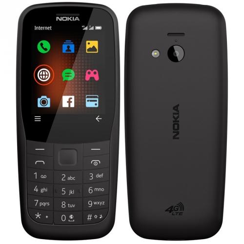 Mobilní telefon Nokia 220 4G Dual SIM černý