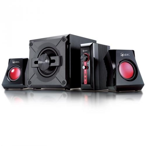 Reproduktory Genius GX Gaming SW-G 2.1 1250, Verze II. černé/červené