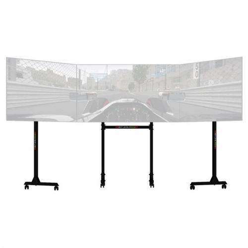 Držák Next Level Racing Free Standing Triple Monitor Stand, pro 1-3 monitory černý