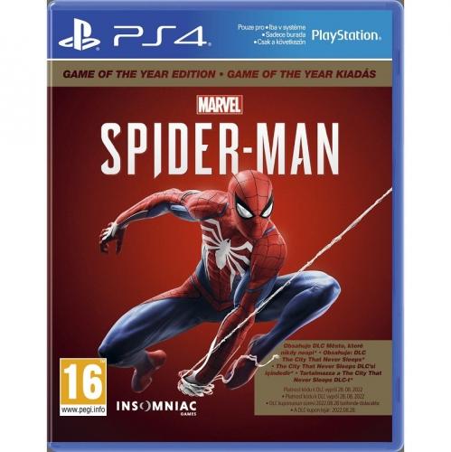 Hra Sony PlayStation 4 Marvel's Spider-Man GOTY