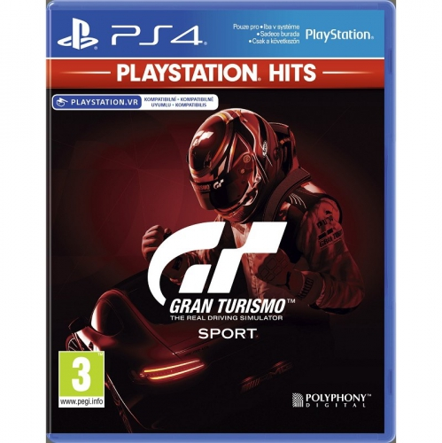 Sony Gran Turismo Sport PS HITS