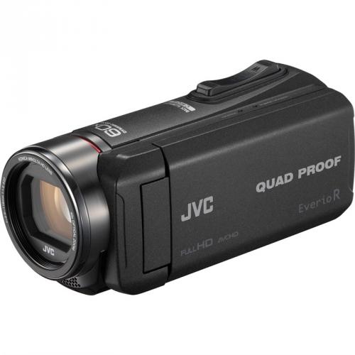 Videokamera JVC GZ-R445B černá