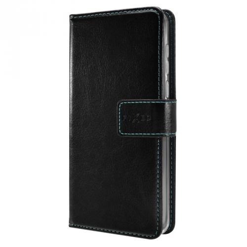 Pouzdro na mobil flipové FIXED Opus pro Samsung Galaxy A10s černé