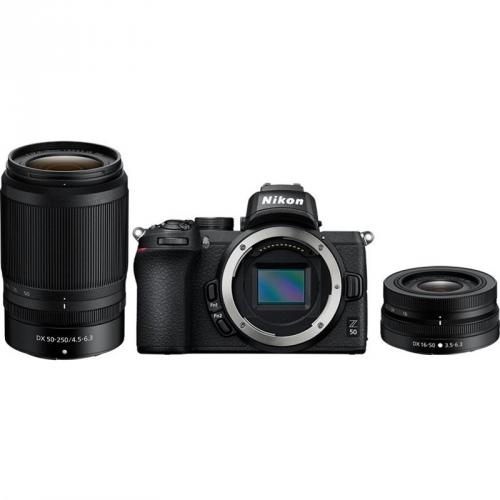 Digitální fotoaparát Nikon Z50 + 16-50 VR + 50-250 VR černý