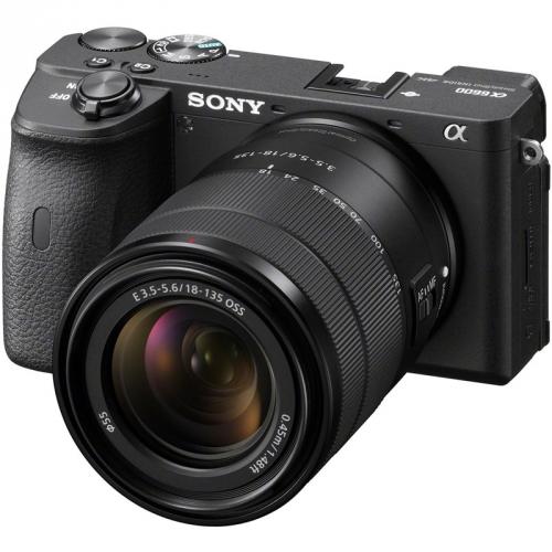 Digitální fotoaparát Sony Alpha 6600 + 18-135 černý