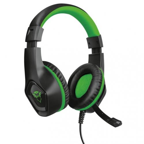 Headset Trust GXT 404G Rana pro Xbox One černý/zelený