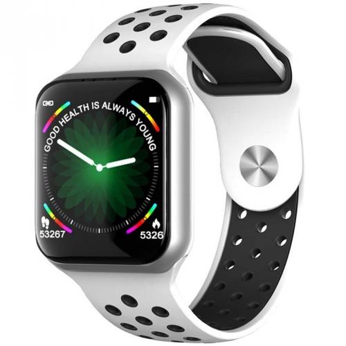 Chytré hodinky IMMAX SW13 stříbrné/bílé
