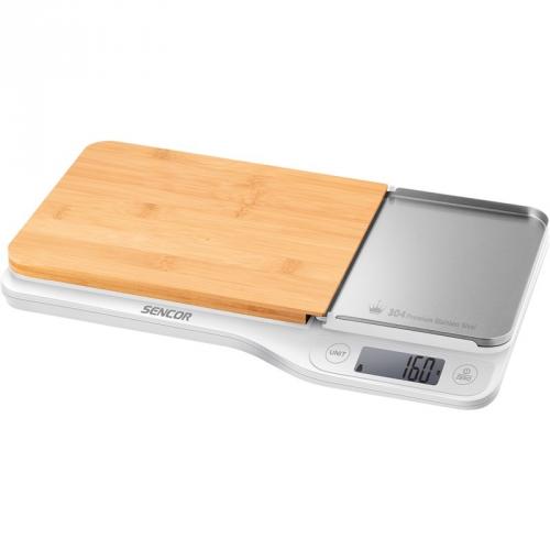 Kuchyňská váha Sencor SKS 6501WH