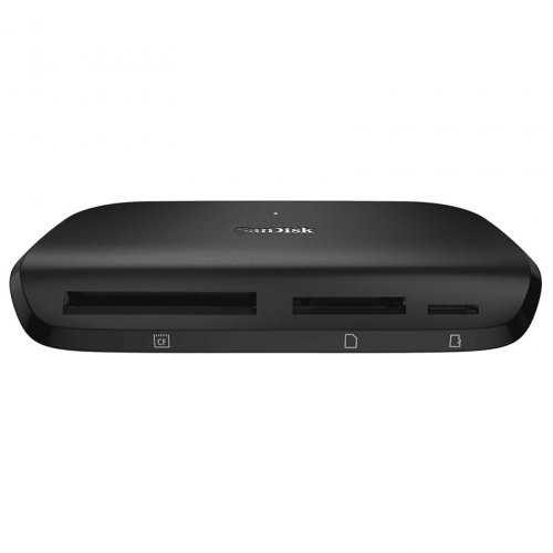 Čtečka paměťových karet Sandisk ImageMate Pro USB 3.0, SD, CF, Micro SD černá
