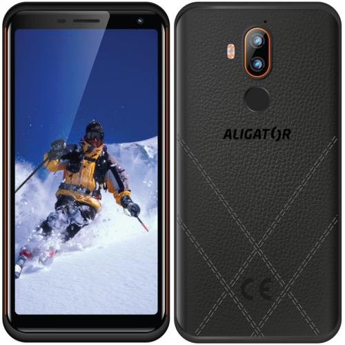 Mobilní telefon Aligator RX800 eXtremo černý/oranžový