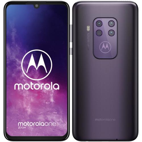 Mobilní telefon Motorola One Zoom fialový