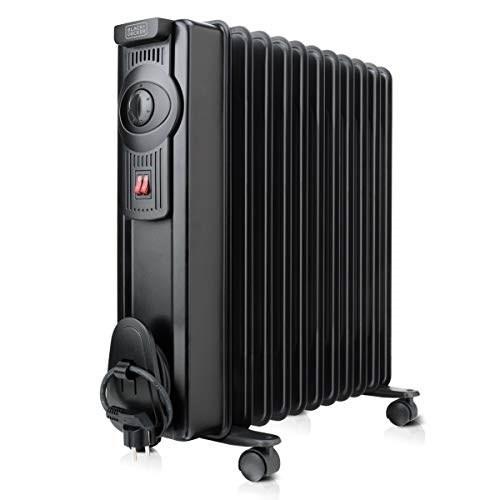 Olejový radiátor Black+Decker BXRA2000E černý