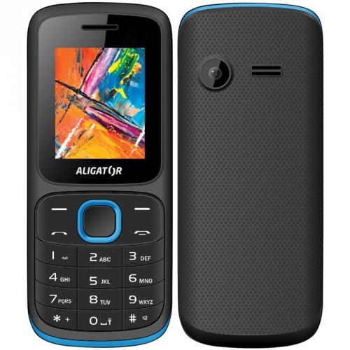 Mobilní telefon Aligator D210 Dual SIM modrý