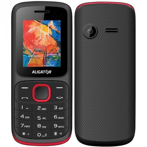 Mobilní telefon Aligator D210 Dual SIM červený