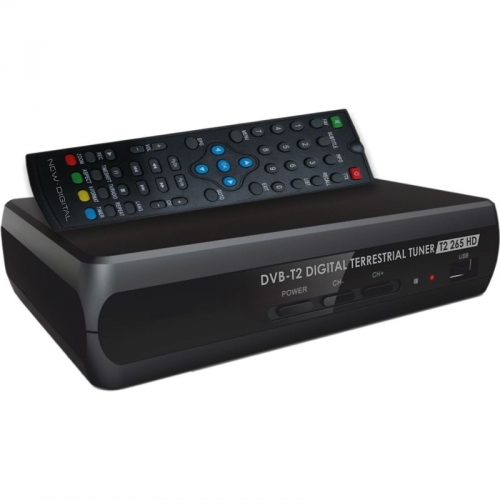 Set-top box NEW DIGITAL T2 265 HD černý