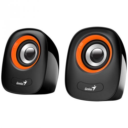 Reproduktory Genius SP-Q160 černé/oranžové