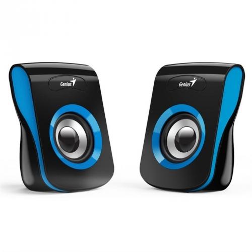 Reproduktory Genius SP-Q180 černé/modré