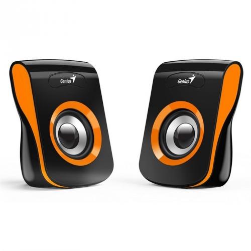 Reproduktory Genius SP-Q180 černé/oranžové