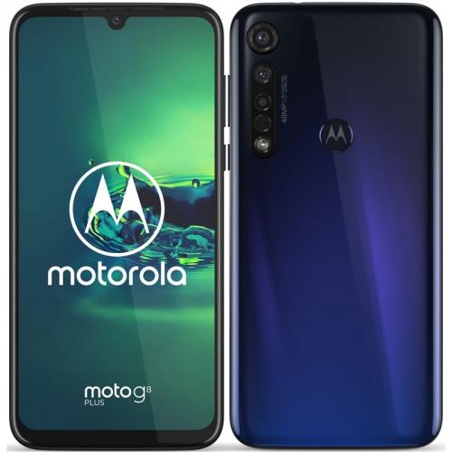 Mobilní telefon Motorola Moto G8 Plus modrý