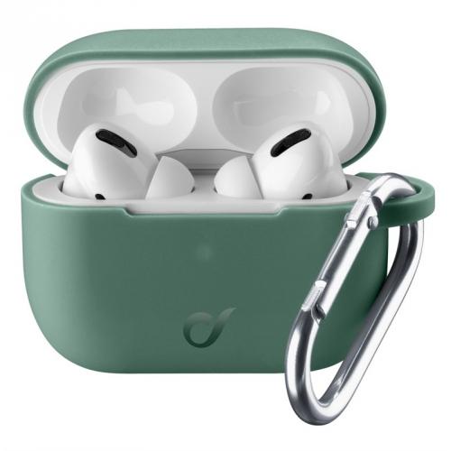 Pouzdro CellularLine Bounce pro Apple AirPods Pro zelené
