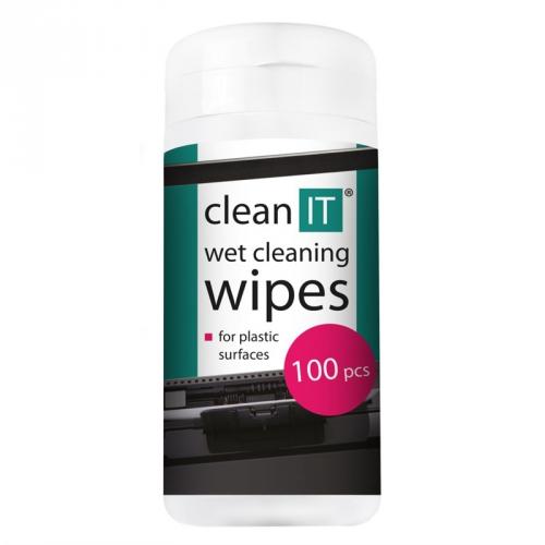 Clean IT mokré na plasty, 100ks